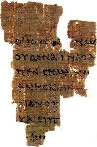 Earliest manuscripts