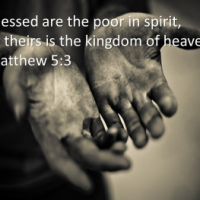 """Be poor and have everything"" Mt 5:1-12"