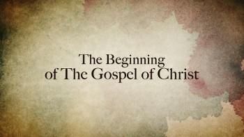 Mark 1 1 >> New Reality Has Begun Mark 1 1 8 Grace Evangelical