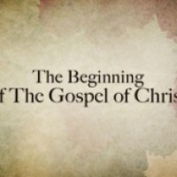 """New reality has begun"" Mark 1:1-8"