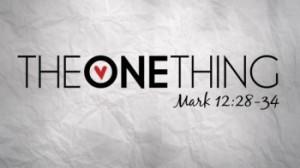 Mark 12 28-34