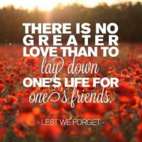 """Lest we forget"": memory and hope"