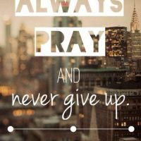 """Surprised by prayer"" Luke 18:1-8"